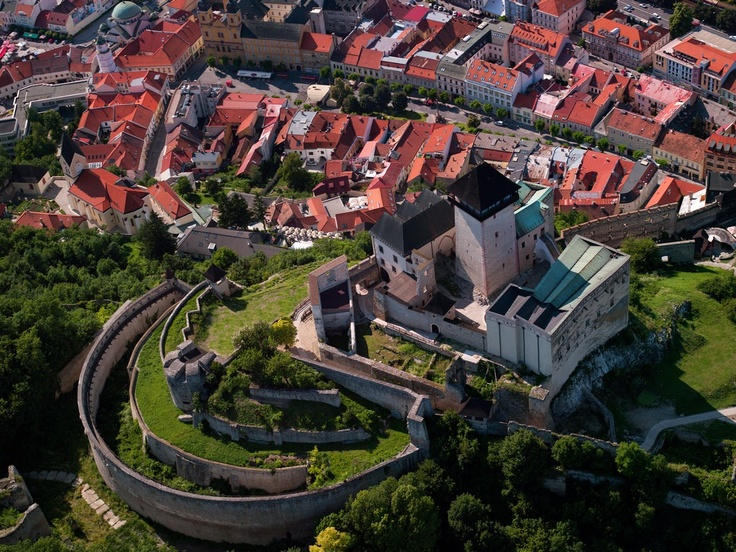 The Castle of Trenčín built on top of a steep rock is the dominant of the town Trenčín and the region of Považie. The Castle is along with those of Spiš and Devín one of the biggest in Europe.