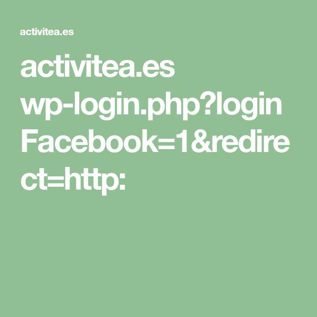 activitea.es wp-login.php?loginFacebook=1&redirect=http: