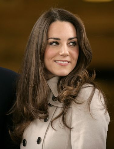 Kate Middleton, Duchess of Cambridge. I think Diana would have loved her.