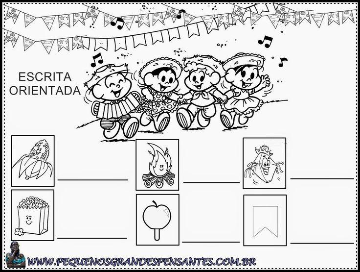 festa junina atividades para educação infantil - Pesquisa Google