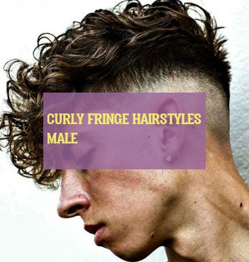 curly fringe hairstyles male Curly Hair lockige fransenfrisuren männlich #curly #fringe #hairstyles #male