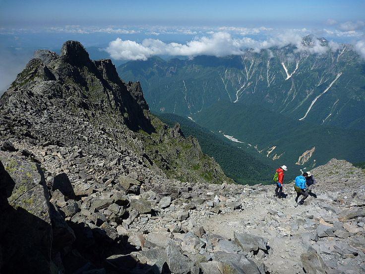 The okuhotaka mountain in Japan