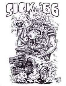 """1992 rat fink coloring book ed """"big daddy"""" roth - Bing Images"""
