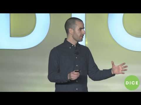 #CAPYGames' Nathan Vella talks about collaboration! #DICE2015  #SuperTimeForce #Superbrothers
