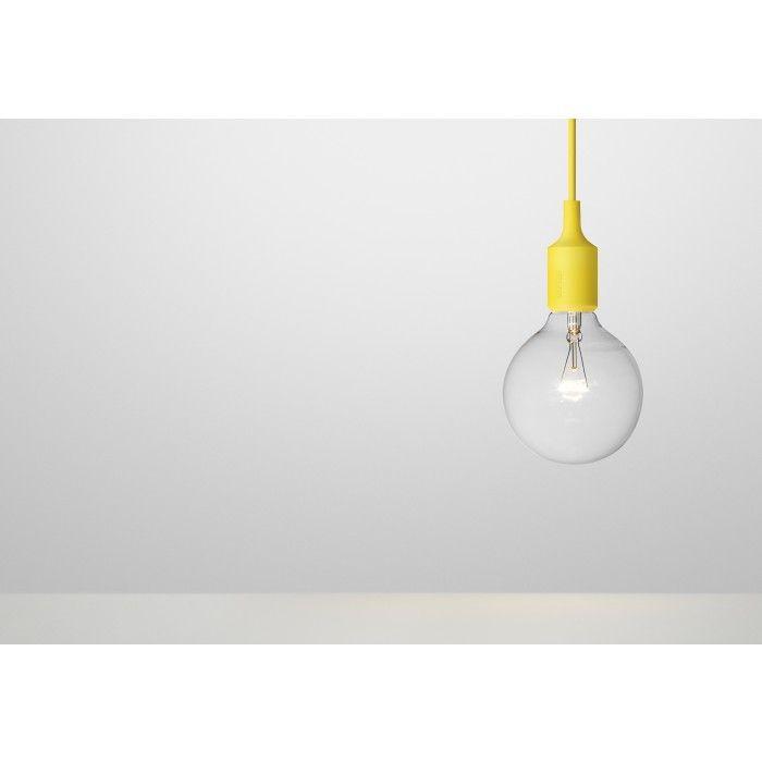 MUUTO E27 Socket Lamp Light Yellow