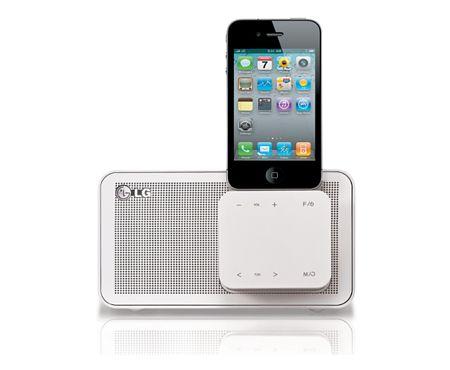 Sistema de audio portátil para tu ipod o iphone  IPOD DOCKING, 8W Y 5W