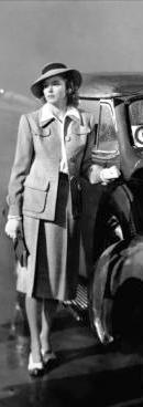 """Ingrid Bergman in """"Casablanca"""", 1942. Costumes by Orry-Kelly."""