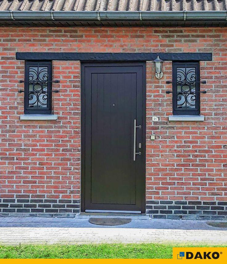zewnętrzne drzwi drewniane drzwi wejściowe
