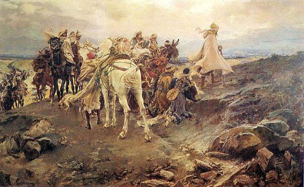 """""""El suspiro del moro"""" de Francisco Pradilla (1979-1892)."""