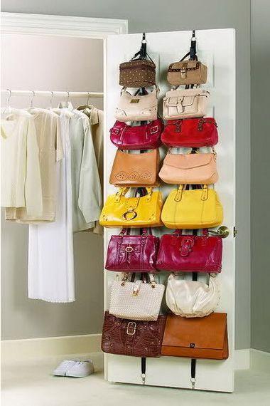 Хранение сумок: где и как хранить сумки, идеи для хранения сумок дома