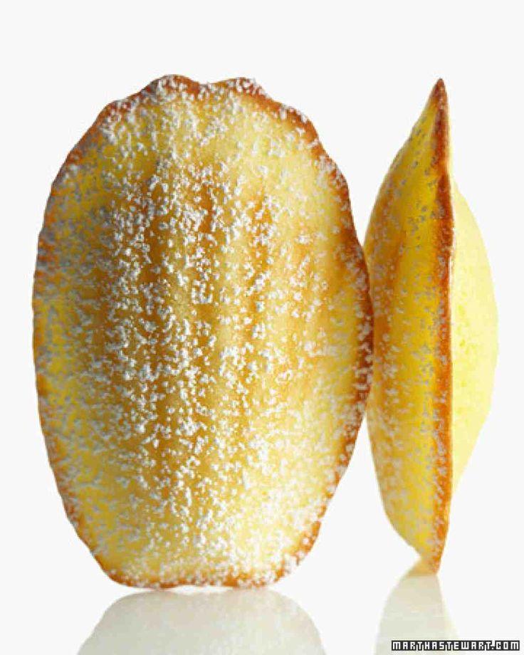 How to make fluffy lemon madeleines.