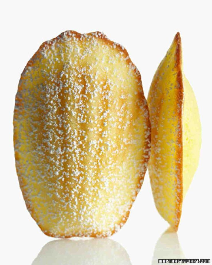 Lemon Madeleines - Like little cakes with a citrus perfume, these European darlings are equally delightful as a light dessert with fresh fruit or on their own at teatime.