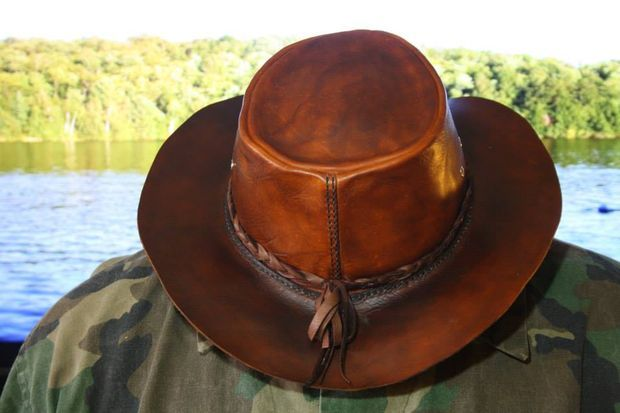 How To Make A Leather Bushcraft Hat - Instructables.Com