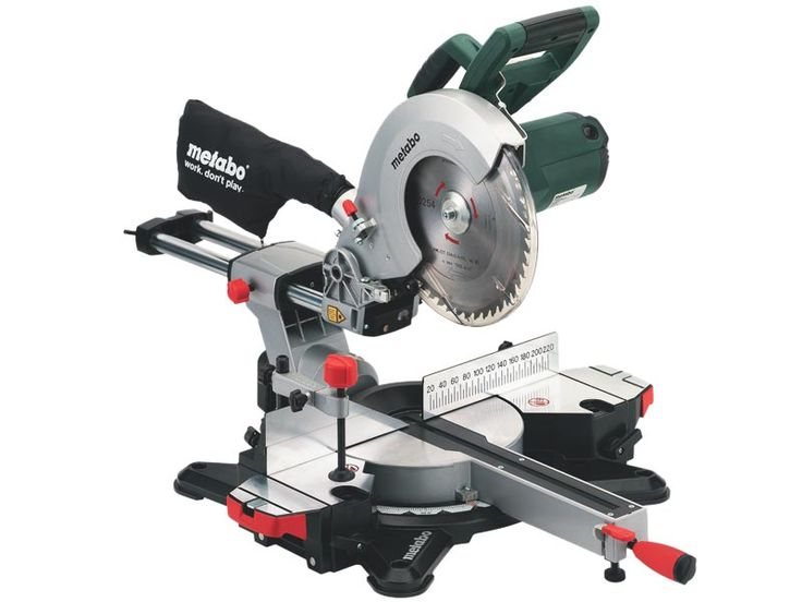 Metabo KGS254M 240v 1800w Sliding Mitre Saw with 254mm Blade