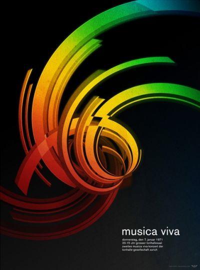 .: Design Inspiration, Josef Mullerbrockmann, International Typographic, Josef Müller Brockmann, Musica Viva, Posters Design, Graphics Design, Music Posters, Concerts Posters