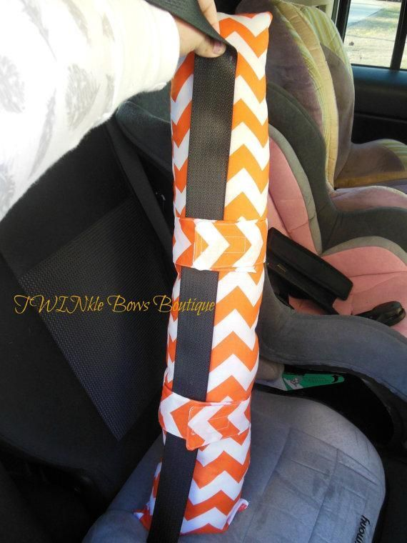 Sewing: Seat Belt Pillow EASY-keep belt from putting too much pressure on neck