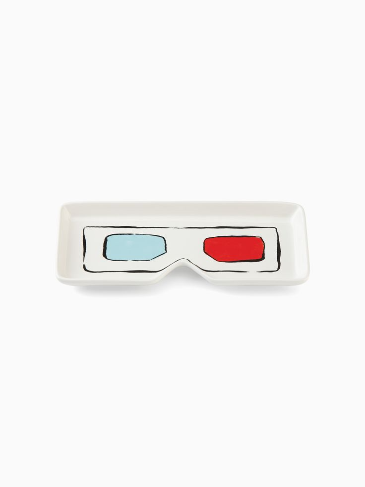 pop by™ 3d glasses candy tray | Kate Spade New York
