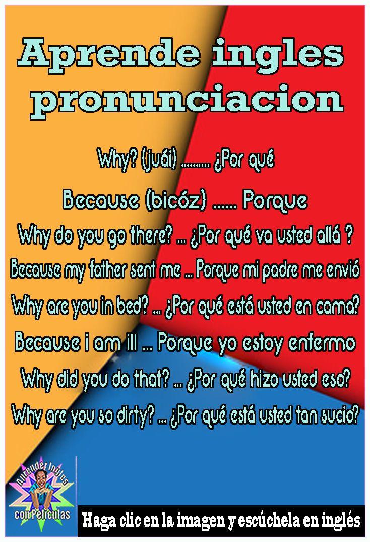 Aprende ingles pronunciacion, Palabras en ingles con