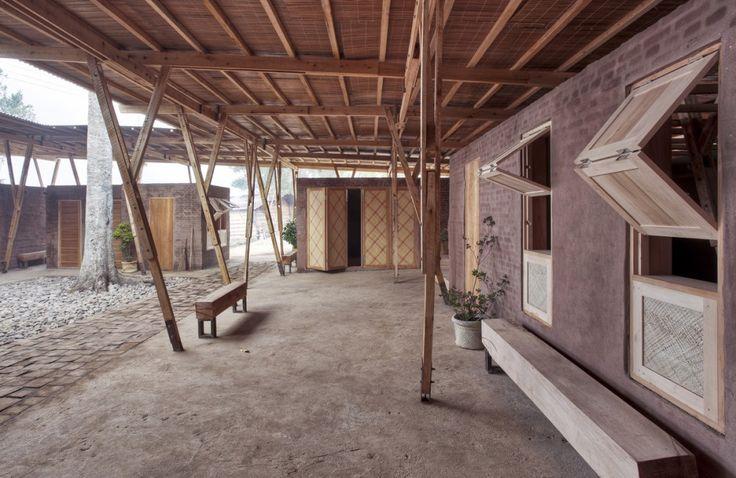 Centro de Formación Cassia Co-op by TYIN Tegnestue Architects (Sungai Penuh, Kerinchi, Sumatra, Indonesia)