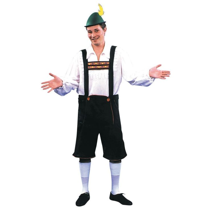 Lederhosen Halloween Costume for Men - Medium