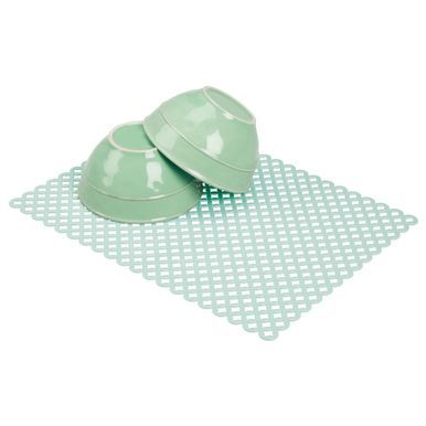 Extra Large Plastic Kitchen Sink Protector Mat With Diamond