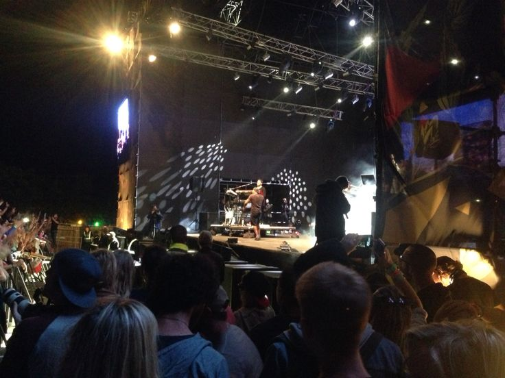 Rudimental Mainstage front