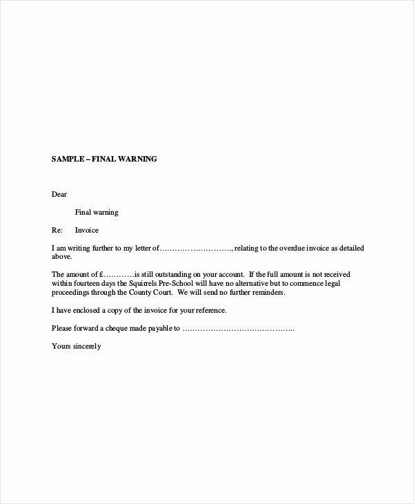 Free Past Due Letter Template Awesome Past Due Invoice Letter Letter Templates Lettering Letter Writing Template