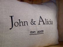 Established Linen Pillow Casual Style