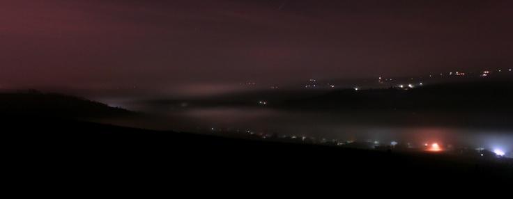 Altra immagine di nuvole di nebbia che appaiono e scompaiono, Oltrepò Pavese, Pietra de Giorvi - PV