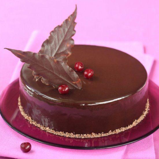 Cake Cherry Chocolate
