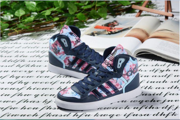 2016 Adidas Originals Extaball mujer Casual Trainers Profundo azul Roses Clásico…