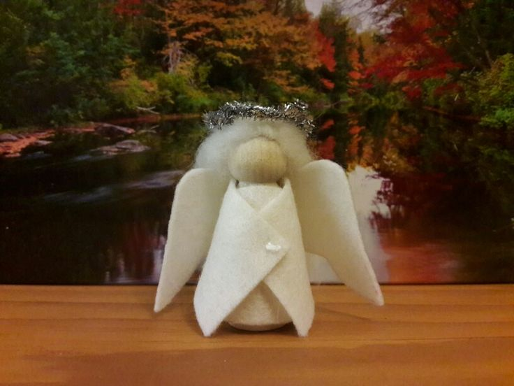 Peg doll angel (tapered body)