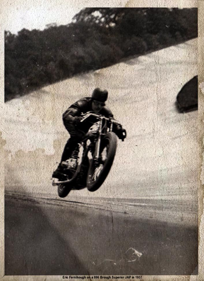 Eric Fernihough on his 996 JAP Superior #motorcycle: Motorcycles, 996 Jap, Bike, Brough Superior, Jap Superior, Eric Fernihough, Cafe Racer, Vintage Motorcycle