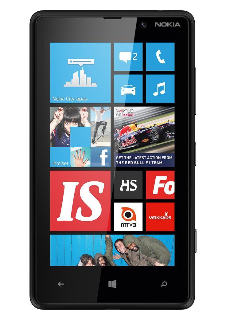 NOKIA, Lumia 820 black puhelin