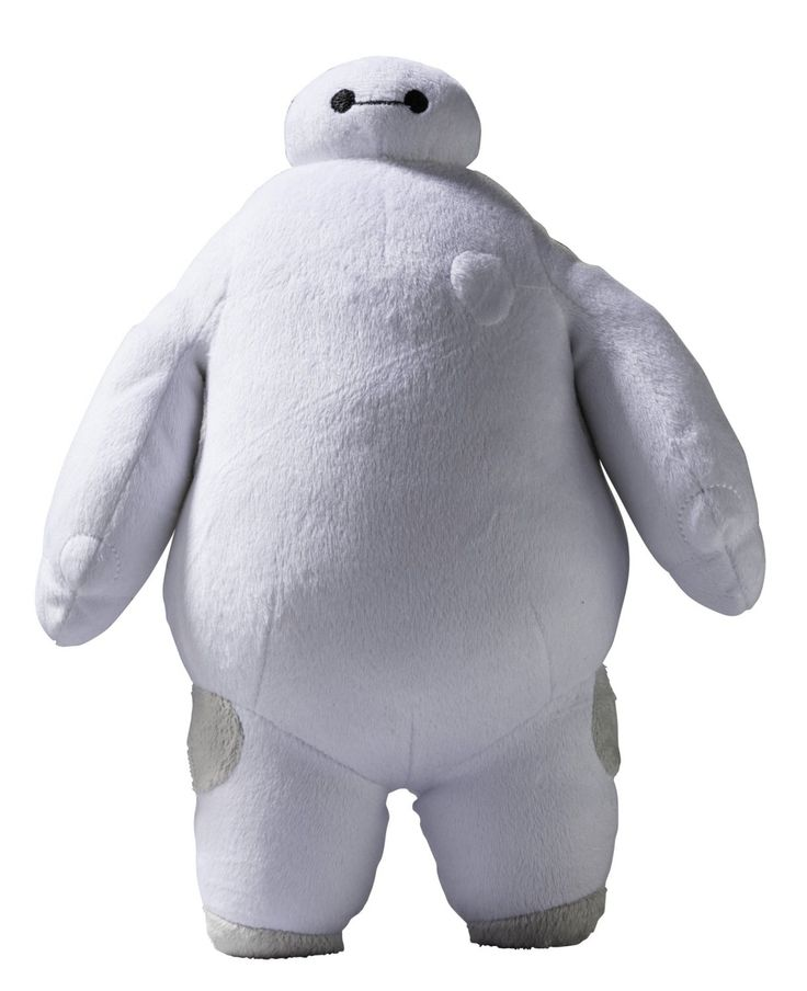 "Amazon.com: Big Hero 6 10"" Baymax Plush Figure with Sound Effects: Toys & Games"