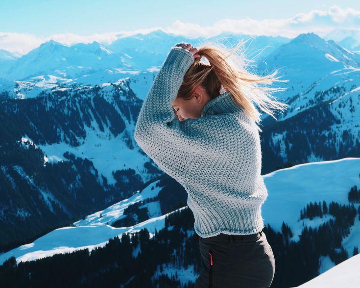Merelgebe auf Instagram | Wintersport – Haar – Pullover – Mode – Schnee – Winter – Schwanz – Lächeln – Reise – Österreich – Tirol – Skifahren – Berge – Ziele – Aussicht