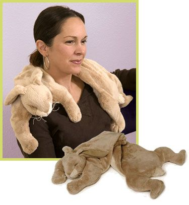 bunny neckpillow/heating/cooling wrap~  best invention ever!