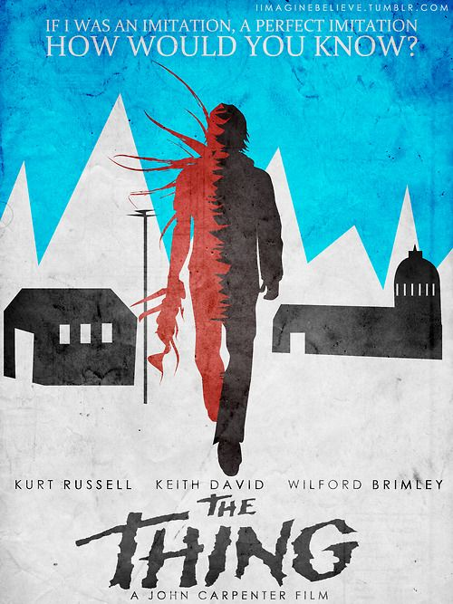 Slick Fan Poster for 'The Thing' - PopOptiq