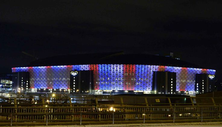 Friends Arena de Solna, en périphérie de Stockholm (Suède) - Marcus Ericsson - AP- SIPA