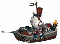 Le vaisseau des pirates, Lego-Duplo - Cadeaux de Noël - Un navire de pirates qui flotte sur l'eau pour de vrai ! 33 pièces simples à assembler pour jouer dès 2 ans aux pirates. Le vaisseau des pirates, Lego-Duplo : 40 €