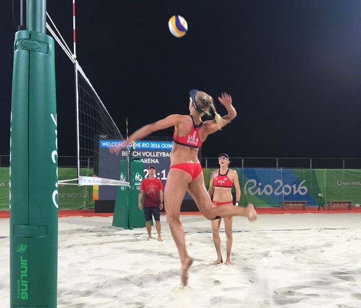 U.S. Olympic Team Retweeted USA Volleyball ‏@usavolleyball 8h8 hours ago Let's get this #copacabana party started! Send pics of your watch party, let's go! #USA vs Australia 11pmET April Ross and Kerri Walsh Jennings