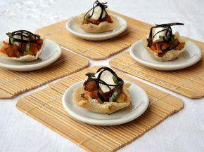 Finger food alla parmigiana di melanzane