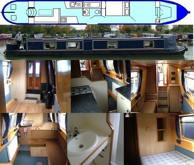 SOLD CORSHAM 2010 57FT PINDER CRUISER- £45,000 www.calcuttboats.com