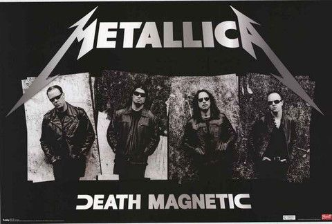A great Metallica poster! The band returns to their roots on the Death Magnetic LP. Fully licensed - 2010. Ships fast. 22x34 inches. Give your walls a good thrashing with the rest of our awesome selec
