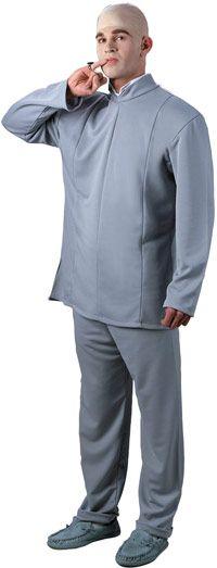 """Номера """"люкс"""" д-р злом взрослые костюм - Остин Пауэрс костюмы"""