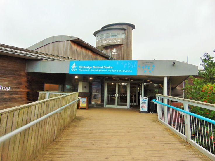 Slimbridge entrance