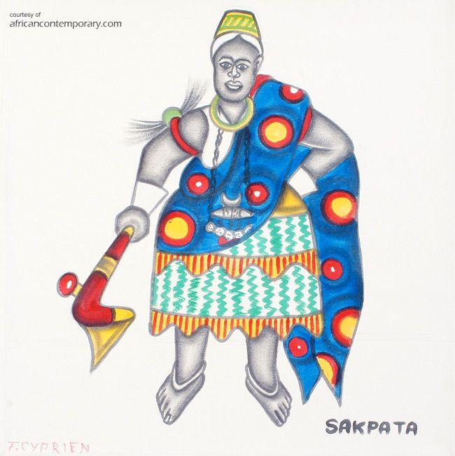 TOKOUDAGBA | Cyprien TOKOUDAGBA, Benin - painter, cculptor and ceramist. PAINTINGS & CERAMICS > available Cyprien Tokoudagba works.