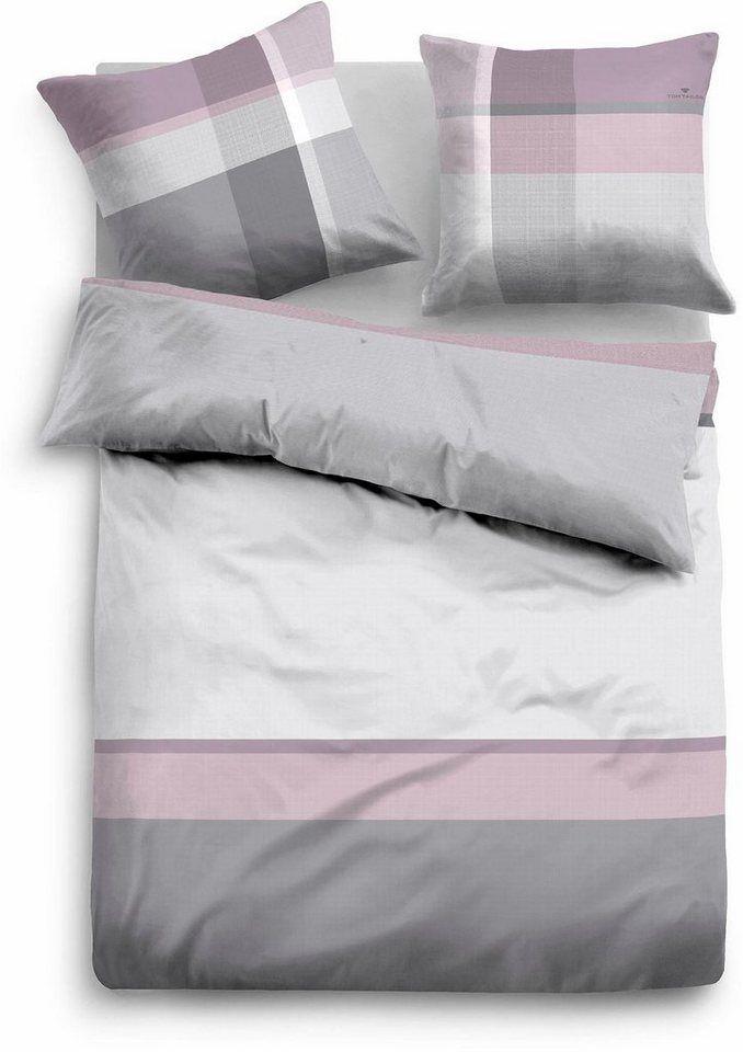 Bettwäsche Filian Tom Tailor Mit Breiten Streifen Duvet Cover