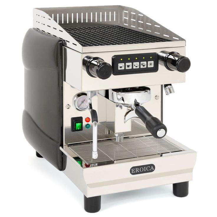 Eroica coffee machine_    Kávézók, bárok, éttermek kedvence, ahol kisseb helyen is elfér. Az Eroica kávéfőző alkalmas akár 400 csésze eszpresszó, cappuccino, vagy más forró italt elkészítésére óránként.