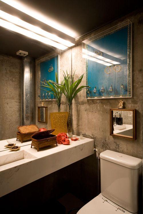 lavabo, concrete